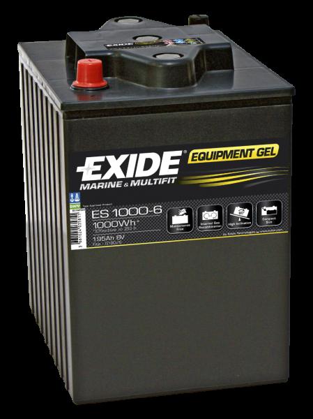 Bilde av ES1000-6 EXIDE EQUIPMENT GEL