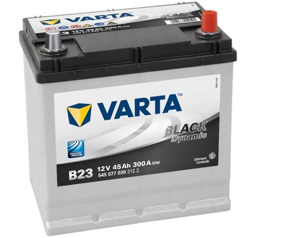 Bilde av VARTA B23 Black Dynamic Batteri 12V 45AH 300CCA (219x135x200/225