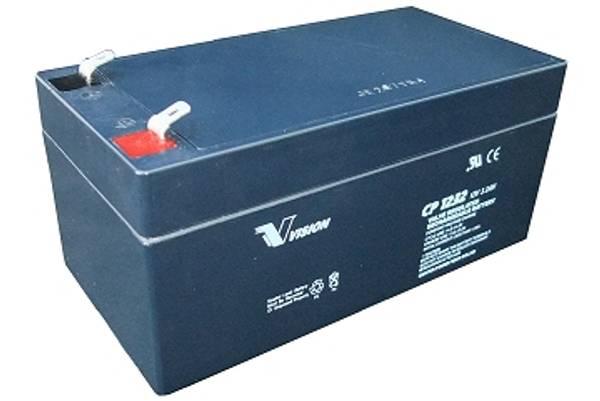 Bilde av VISION 12V 3,2AH AGM Batteri (134x67x67mm)