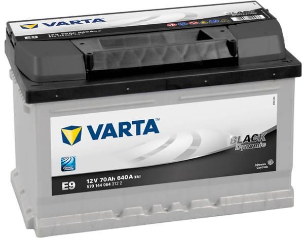 Bilde av VARTA E 9 Black Dynamic Batteri 12V 70AH 640CCA (278x175x175)