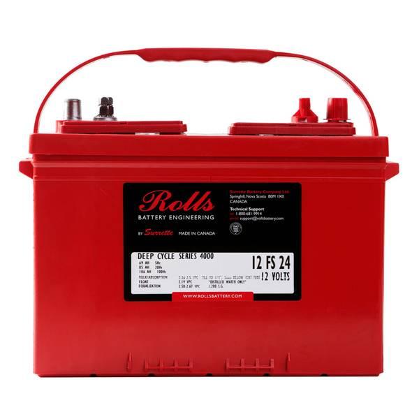 Bilde av ROLLS 12-FS-24 Deep Cycle Batteri 12V 85AH (279x171x238mm)