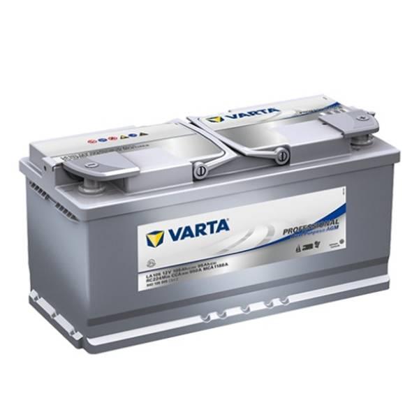 Bilde av VARTA LA105 Professional Dual AGM Batteri 12V 105AH 950CCA