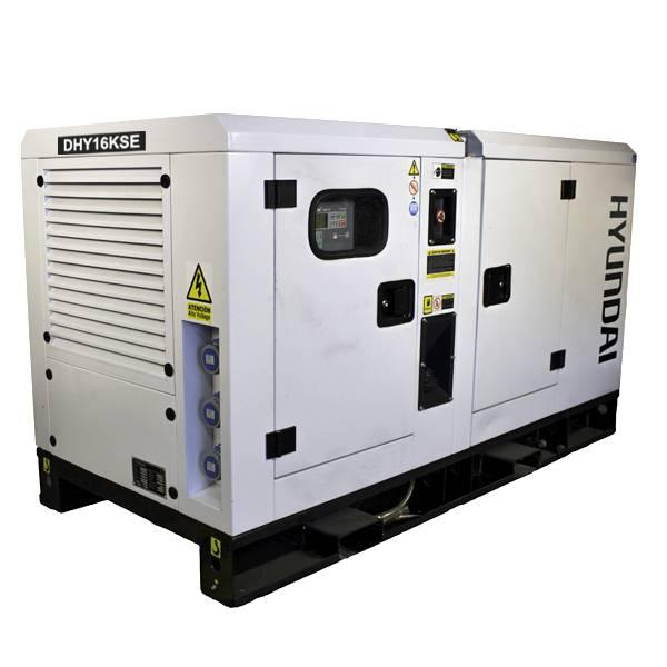 Bilde av HYUNDAI DHY16KSE Diesel strømaggregat 16,5kVA 3-fas